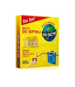 BIOENZYM P1 100g DO SEPTIKU ČISTIČ