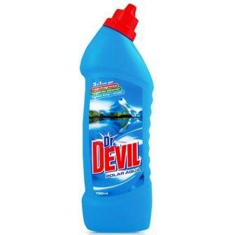 Dr.DEVIL WC 750ml ČISTIČ POLAR 8908