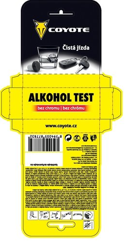 COYOTE ALKOHOL TEST  877832