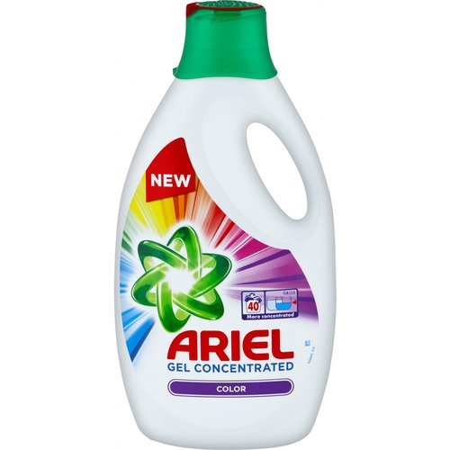 ARIEL GEL 40pd COLOR 2,2L