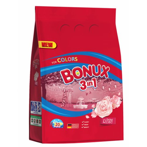 BONUX PRASEK 1,5kg COLOR ROSE 20PD