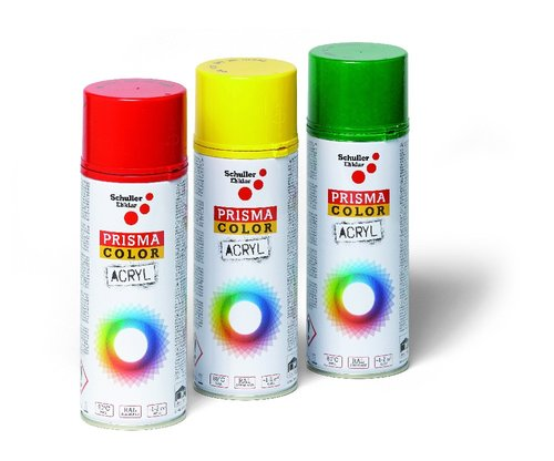 PRISMA SPRAY CHROMOVE ZLUT 91041 RAL1007