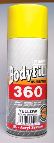 BODY 400ml SPRAY ZLUTY PLNIC 360 6156