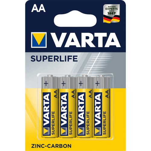 BATERIE AA VARTA TUZKA 4ks SUPERLIFE