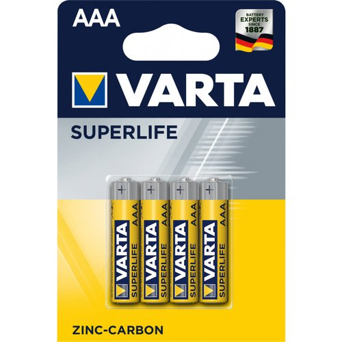 BATERIE AAA VARTA MIKRO.4ks SUPERLIFE
