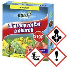 CHOROBY RAJCAT A OKUREK STOP2X10g AGRO C
