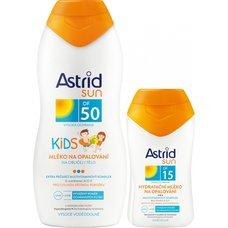 ASTRID SUN KIDS MLEKO F50 200ml+F15 80ml