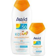ASTRID SUN KIDS MLEKO F50 200ml+F15100ml