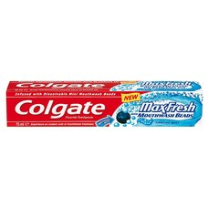 Z.P.COLGATE 75ml MAX FRESH BEADS