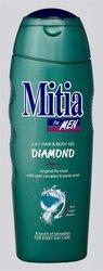MITIA SPR.GEL DIAMOND 400ml 2v1 8674 men