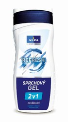 ALPA SPRCH.GEL 300ml 2v1 REFRESH. 02478