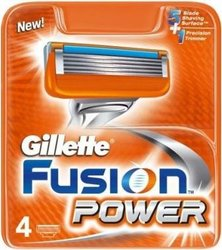 GILLETTE FUSION POWER 4NH