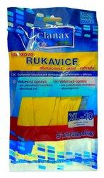 RUKAVICE GUMOVÉ STANDARD XL-10 VELUR