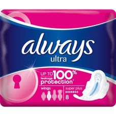 ALWAYS ULTRA SUPER PLUS 8ks 916141