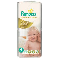 PAMPERS PREM.CARE 52ks MAXI č.4 7-14kg