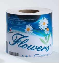 T.PAPIR 200utr 2vr FLOWERS RECYKL